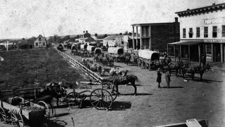 1864 Wagon Train