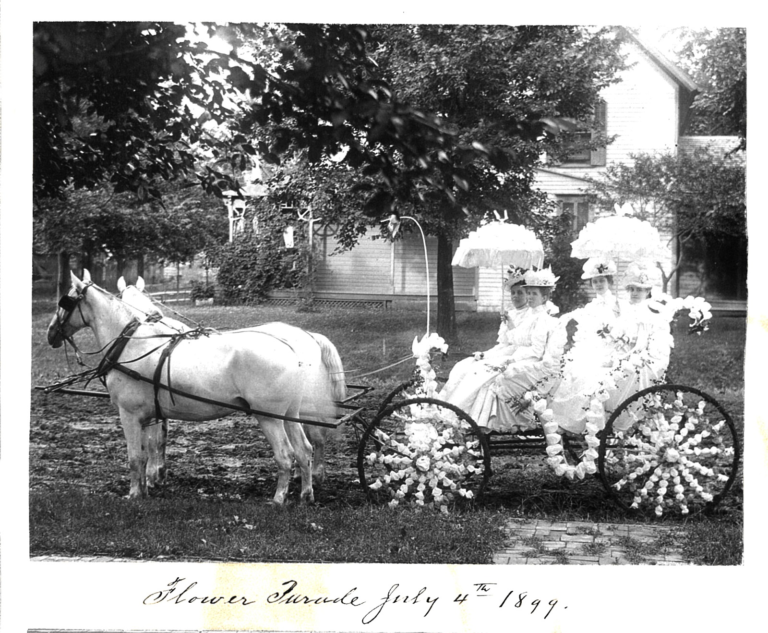 Flower Parade July 4, 1899